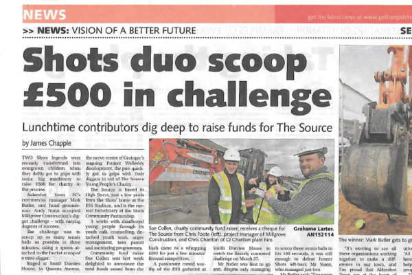 Millgrove Community Newspaper Source Scoop Challenge